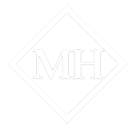 Mercer Hughes Real Estate Group Partial Logo White